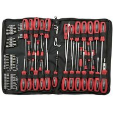 100PC Screwdriver Portable Tool Kit Philips Bits Set Flathead Torx Pozi Mechanic