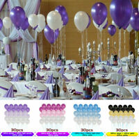 30Pcs/set 10inch Latex Balloon Wedding Birthday Party Helium Balloons DIY Decor