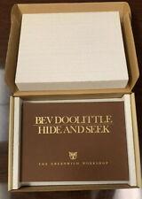 """Bev Doolittle """"Hide & Seek� The Greenwich Workshop Le 526/25000"""