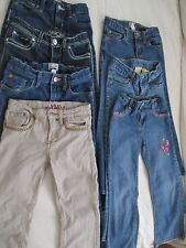 Girls Jeans Size 6, 6X, 6/7 - Set of 7 Total
