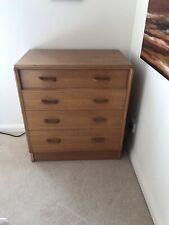 More details for g plan brandon oak chest of drawers. part of a bedroom set.