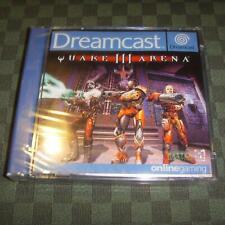 BLISTER NEUF : Quake III Arena pour Sega Dreamcast NIB en boite cello cellophane