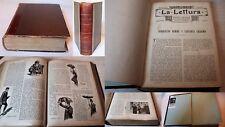 LA LETTURA, anno III 1903, rilegata, rivista illustrata Corriere della Sera