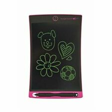 Boogie Board Jot 8.5 LCD eWriter Blue with Pink Neoprene Protective Sleeve