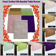 Unbranded Silk Decorative Runners