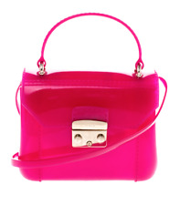 Furla Pink Rubber Candy Mini Crossbody Bag B2542
