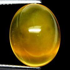 TOP OPAL : 8,11 Ct Natürlicher Gelber Feuer Opal aus Mexiko