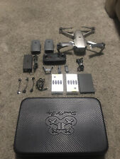 DJI Mavic Pro Platinum Drone with Fly More Combo and extras! Pristine Condition