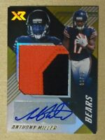 2018 Panini XR Rookie Jumbo Swatch Patch Relic Auto Anthony Miller Bears 6/10
