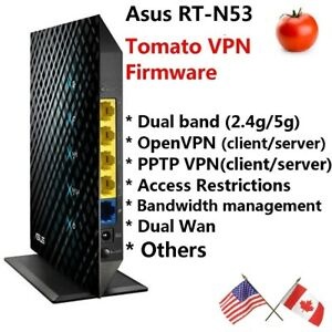 ( Refurbished ) Lot of 150 Tomato VPN routers - Asus RT-N53