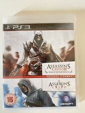 PS3 Game - Assassin's Creed 1 And 2 Double Pack