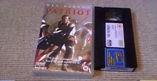 THE PATRIOT UK COLUMBIA TRISTAR BIG BOX VHS VIDEO 2000 MEL GIBSON HEATH LEDGER
