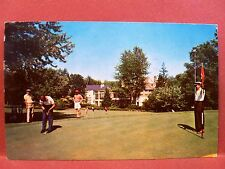 Postcard MD Bethesda Kenwood Golf and Country Club 9th green