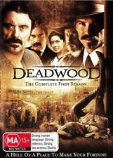 DEADWOOD The Complete First Season 1 New 4 Dvd TIMOTHY OLYPHANT IAN MCSHANE ***