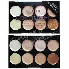 Technic Colour Fix Cream Highlighter Palette 16g - Natural Glowing Finish
