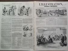 LA ILUSTRACIÓN 1859 NO 839 DE ATERRIZAJE PATRIOTAS ITALIANOS UN QUEESTOWN
