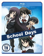 PRE  ORDER: SCHOOL DAYS: COMPLETE TV SERIES - BLU RAY - Region A - Sealed