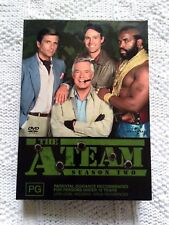 THE A TEAM – SEASON 2 - DVD – 6 DISC BOX SET, R:2+4+5, LIKE NEW, FREE POSTAGE