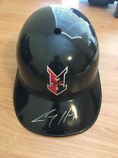 Indianapolis Indians Corey Hart Baseball Helmet signed auto Brewers Pirates