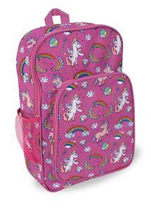 Girls Unicorn Backpack School Book Bag Kindergarten Preschool Elementary School