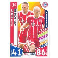 Champions League 17/18 - 72 - Franck Ribery / Arjen Robben - FC Bayern München