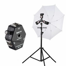 Selens SE-31 Triple Hot Shoe Mount Flash Holder Bracket For Light Stand Umbrella