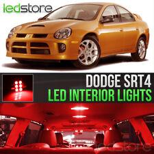 2003-2005 Dodge Neon SRT4 Red LED Lights Interior Kit Package