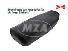 Simson Sitzbankschonbezug, schwarz, glatt - für S50, S51, KR51/2 (perfekt) MOPED