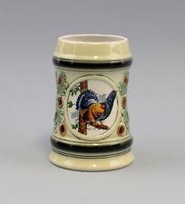 9959010 Porzellan Bierkrug Ernst Bohne/Ens Jagd Auerhahn H15cm