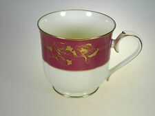 Noritake Ruby Garland Tea Cup