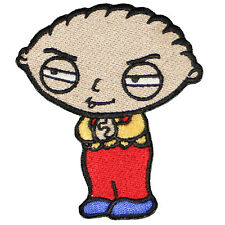 """Stewie Family Guy animated cartoon Embroidered Iron or sew on Patch/Applique 3"""""""