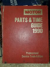 Motor Parts and Time Guide, 1990 Professional Service Trade Edition covers 83-90