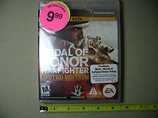 Medal Of Honor: Warfighter - Limited Edition Battlefield 4 Beta Shooter PS3 (NEW