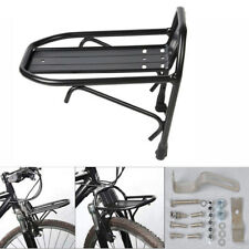 Bike Bicycle Front Rack Luggage Shelf Carrier Panniers Bracket