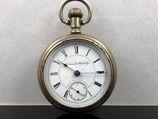Columbus Watch Co Nickel Pocket Watch