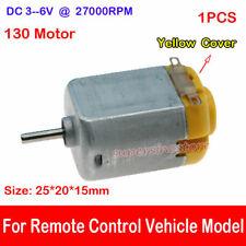 12Pcs 3//3.7//6V Mini 130 Micro DC Motor Gear Round Small Motor Toy Car DIY ModelJ