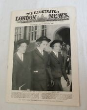 Sep 28, 1963, The Illustrated London News, Princess Anne in School, SB VG