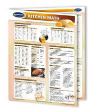 Kitchen Math - Food & Drink Quick Reference Guide