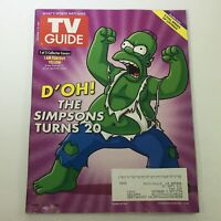 TV Guide Magazine December 7-20 2009 - Homer Simpson / The Simpsons Turns 20