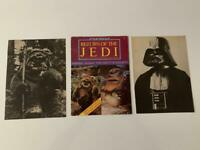 Star Wars Return of the Jedi (1983) Poster Monthly Issue #2 plus 2 BW Photos
