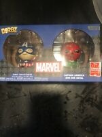 Funko Dorbz Marvel Captain America & Red Skull 2 Pack 2018 Summer Con LE