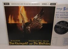 SXL 2230 Wagner Das Rheingold and Die Walkire Highlights VPO Georg Solti ED1 WBG