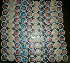 HUGE LOT OF 100 ASSORTED KEURIG COFFEE K CUPS STARBUCKS VAN HOUTTE