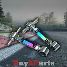 NEO CHROME REAR UPPER ADJUSTABLE CAMBER KIT HONDA CIVIC 96-00 EK EM EJ EM1 EK9