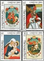 Luxemburg 1018-1021 (kompl.Ausg.) postfrisch 1980 Caritas