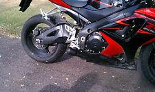 2007 - 2008  GSXR 1000 exhaust slip on RLS Exhaust Core series black gsx-r