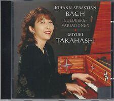 Bach: Goldberg-Variationen - Miyuki Takahashi CD