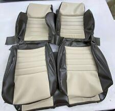 1986-1995 suzuki samurai jx FRONT AND REAR seat upholstery