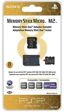 Sony 8gb Memory Stick Micro & Adapter For PSP