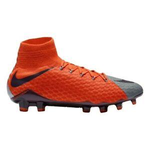 Nike Women's Hypervenom Phatal 3 DF FG Soccer Cleats Boots 881546 058 Sz 6.5